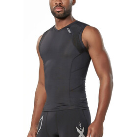 2XU Compression Löparlinnen Herr black/black